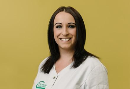 Sandra Röhlich von der Calando Pflegedienst GmbH.