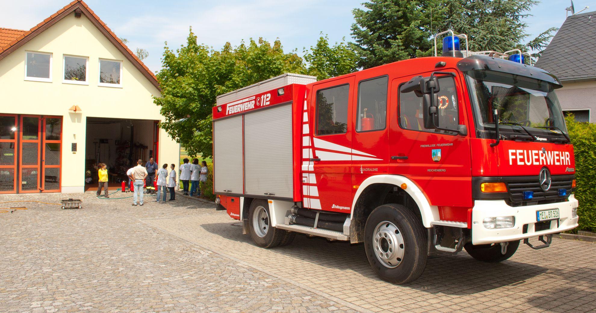 Calando Pflegedienst beim Feuerlöschtraining: Das erlebte unser Team