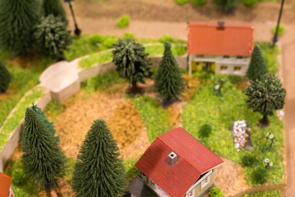 Unser neues Wohnprojekt als Modell.