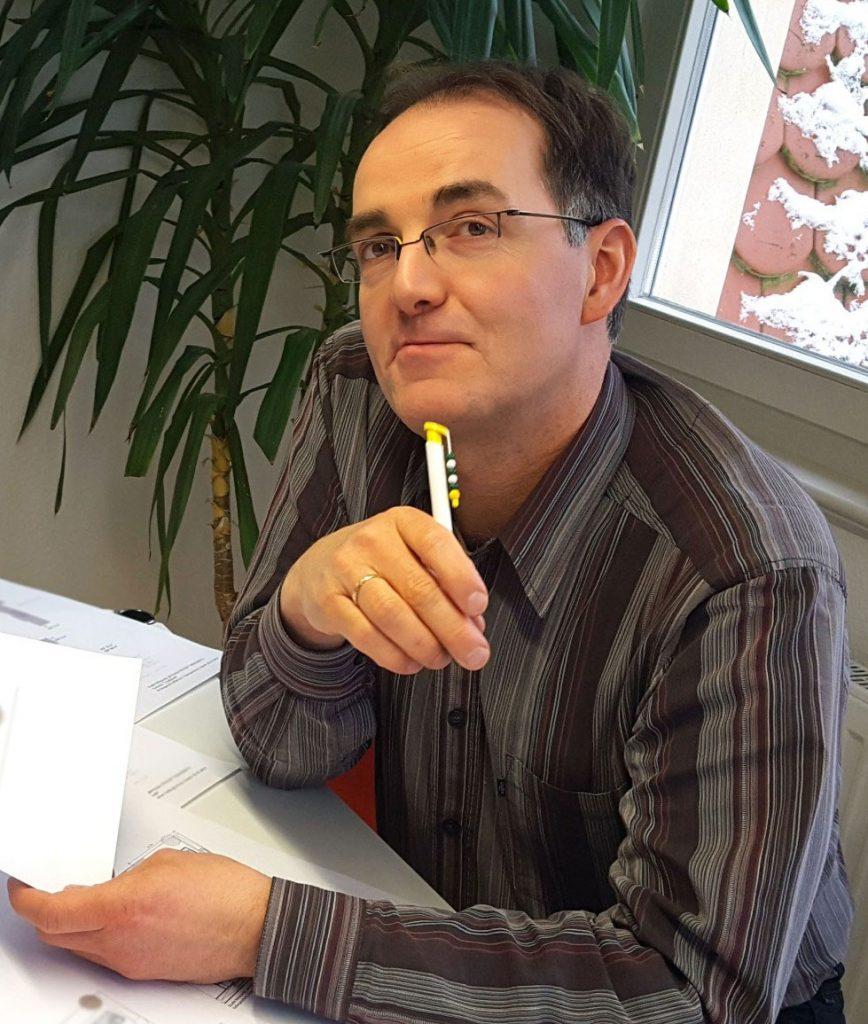 Michael Quaas, Geschäftsführer der Calando Pflegedienst GmbH.