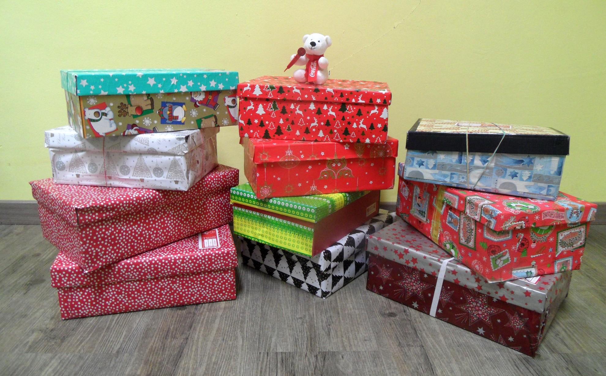 Weihnachten im Schuhkarton: So viele Geschenke haben wir gespendet