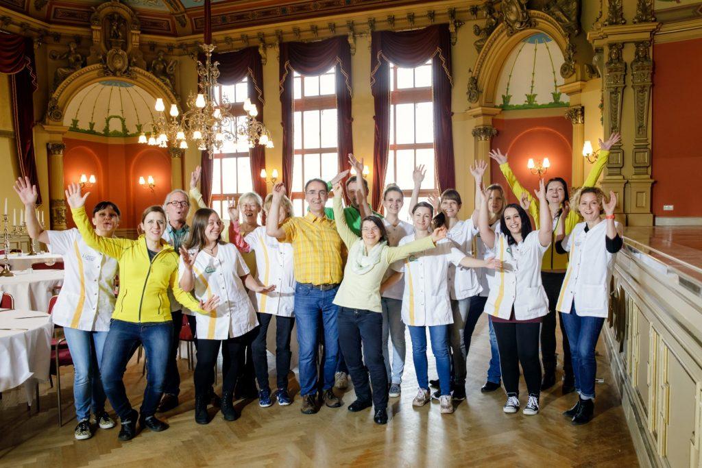 Das Team. (Foto: © 2017 Claudia Jacquemin | www.jacquem.in)