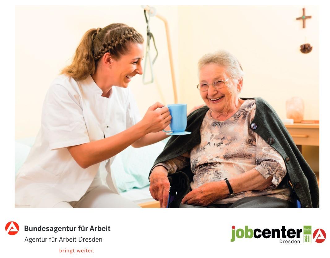 Besuchen Sie uns auf dem Bewerbertag rund um die Pflege