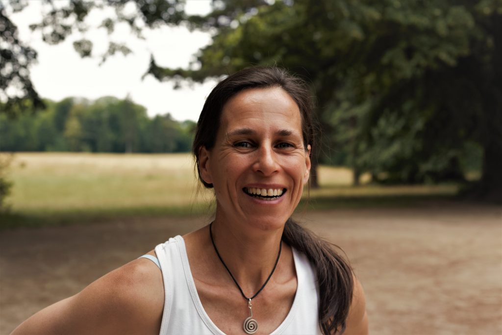 Silke Klewe, Expertin für Coaching, Kommunikation und Supervision, gestaltete den Nachmittag. (Foto: Sven Wernicke)