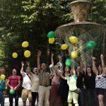 Spaß mit Ballons. (Foto: Anne-Kathrin Gericke)