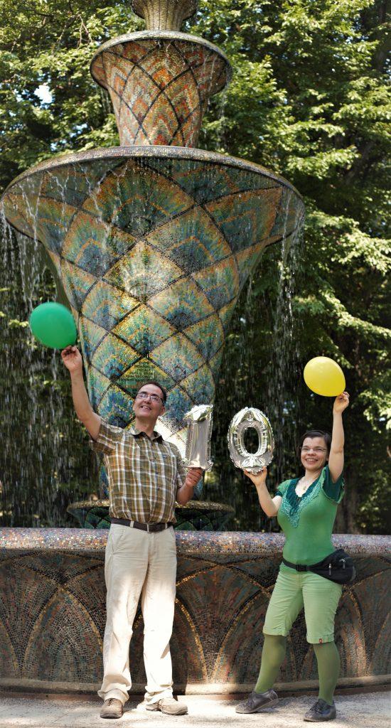 Herr und Frau Quaas feiern. (Foto: Anne-Kathrin Gericke)