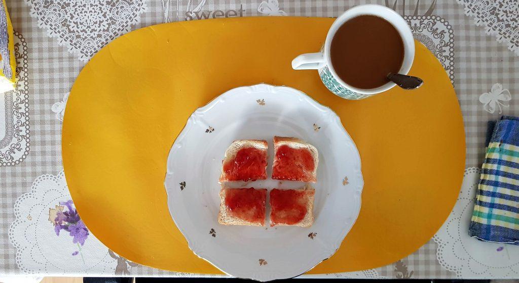 Frühstück ist fertig. (Foto: Sven Wernicke)