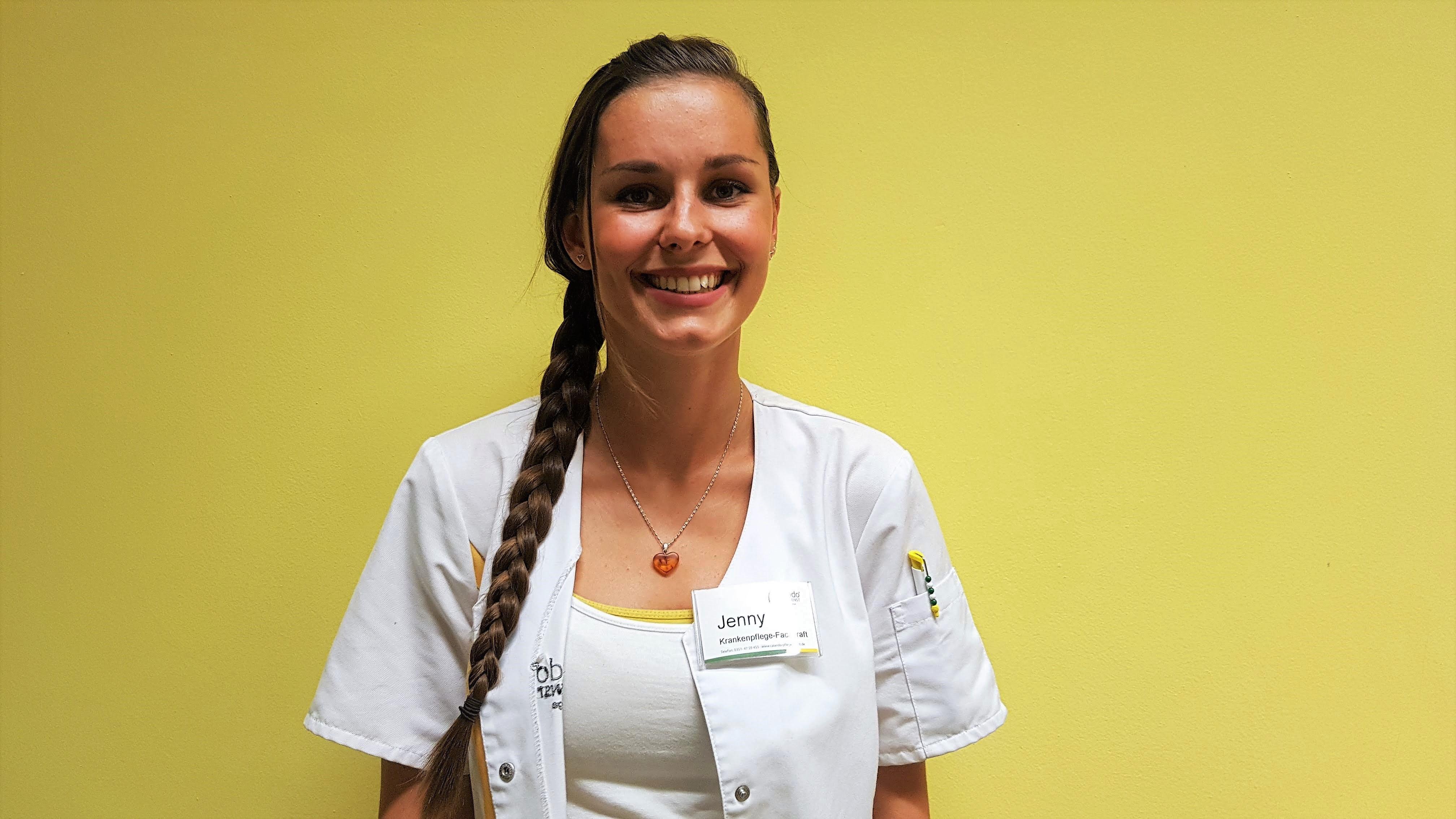 Im Porträt: Frau Graube vom Calando Pflegedienst