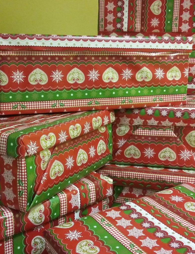 Was der Weihnachtsmann wohl den Kindern bringen wird?