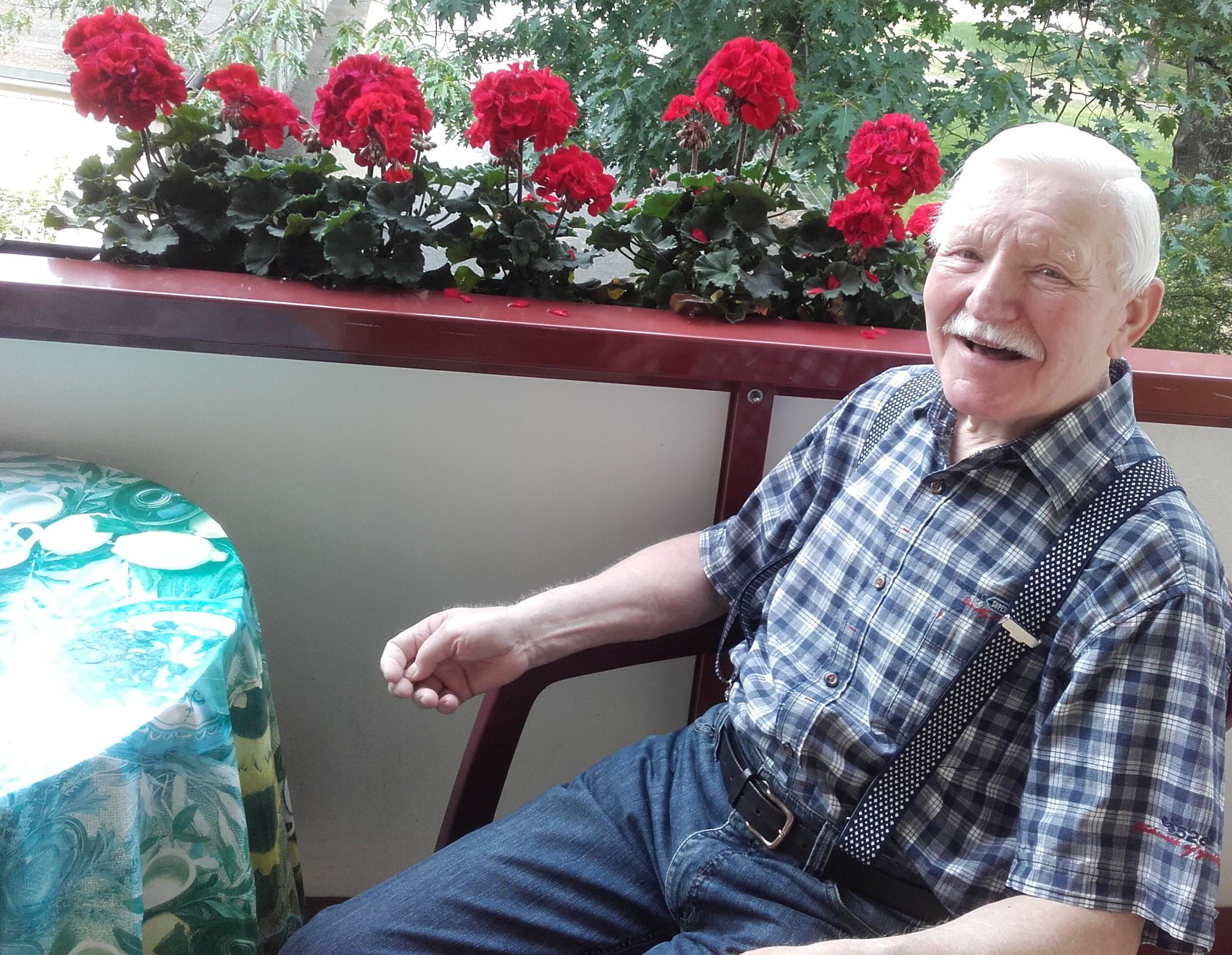 Lebensfreude trotz schwerer Krankheit: So hält sich Siegfried Frohberg fit